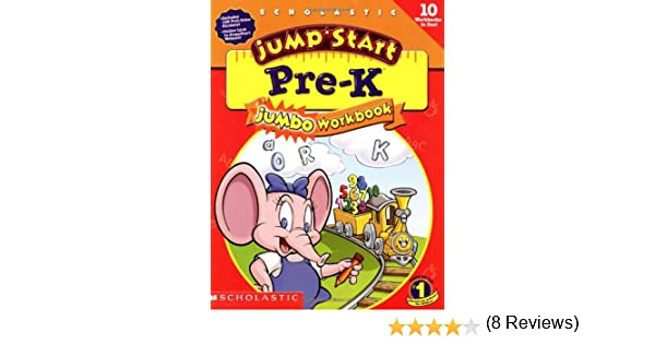 Amazon.com: Jumpstart Pre-k: Jumbo Workbook (9780439137409 ...