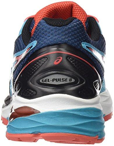 Asics Women's Gel-Pulse 8 Running Shoes, Blue, 9.5 UK Blue (Aquarium/Coralicious/Poseidon)