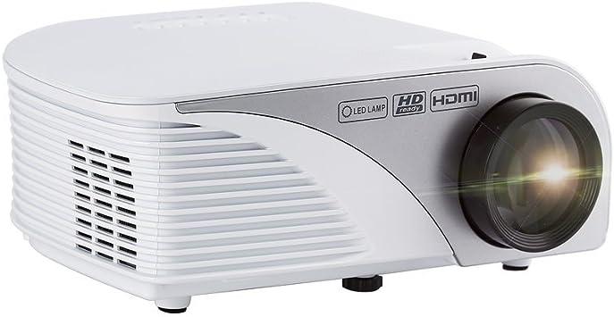 Proyector Portátil 800 x 480 hasta 1080P Multifuncional LESHP ...