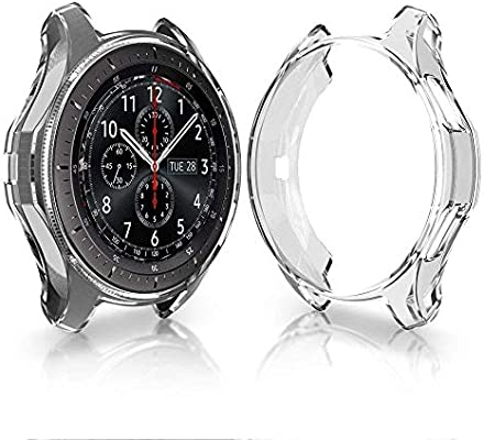 SUPORE Carcasa para Smartwatch Gear S3 SM-R760, a Prueba de Golpes ...