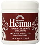 #7: Rainbow Research Henna Hair Color and Conditioner, Persian Burgundy Dark Auburn, 4 Ounce