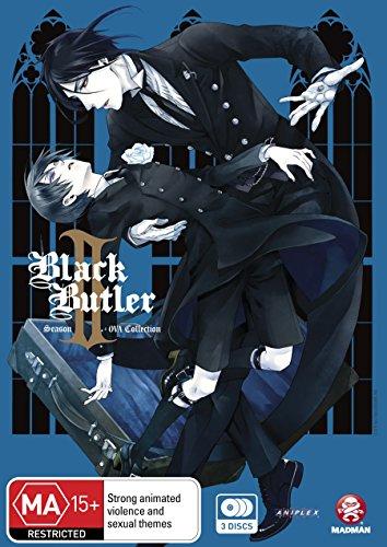 Black Butler Ii | Kuroshitsuji Ii | Season 2 Collection | Ova | 3 Discs | Anime & Manga | NON-USA Format | PAL | Region 4 Import - Australia (Kuroshitsuji Volume)