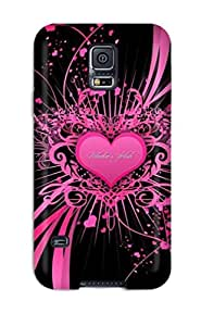 Defender Case For Galaxy S5, Love Pattern