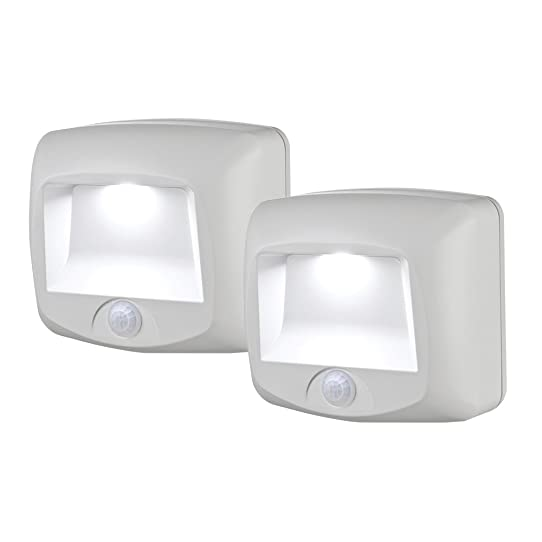 Mr. Beams MB532 Battery Operated Indoor/Outdoor Motion-Sensing LED ...