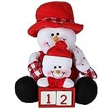 Home-X Snowman Countdown Calendar
