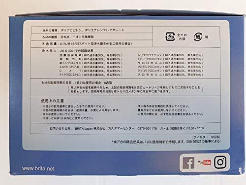 Brita MAXTRA+(ブリタ マクストラ+) 浄水ポット用カートリッジ 日本仕様 8個セット