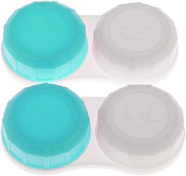 dailymall 10pcs Caja de Lentes de Contacto, Estuche de Lentillas: Amazon.es: Salud y cuidado personal