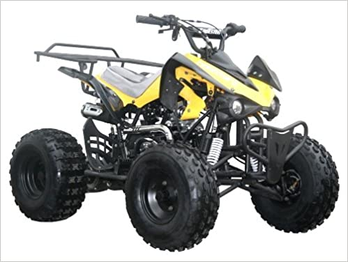 Amazon com: Coolster 125cc Fully Automatic Mid Size ATV Four