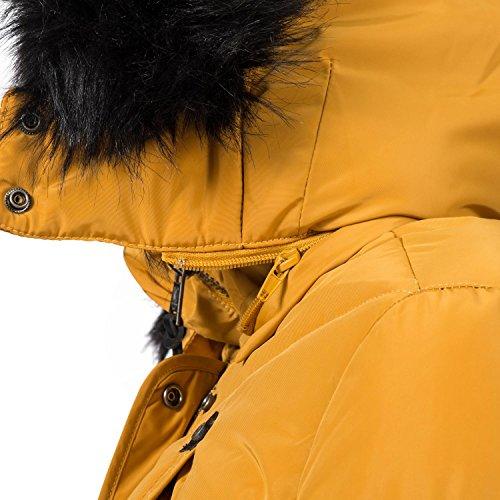 Xs Signore Piumino xxl Marikoo 11 Inverno Colori Vaniglia Giallo 0t0wZ5q