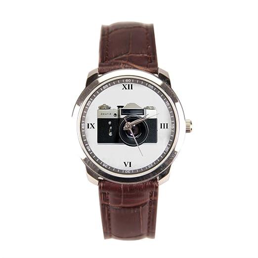 Dr. Koo Zenith los relojes de pulsera - relojes con bandas de cuero: Amazon.es: Relojes
