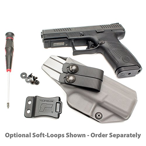 Tulster Walther PPS M2 9mm/ 40 Holster IWB Profile Holster (Black - Right  Hand)