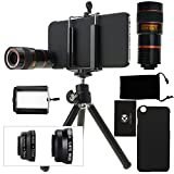 iPhone 6 / 6S Camera Lens Kit including an 8x Telephoto Lens /