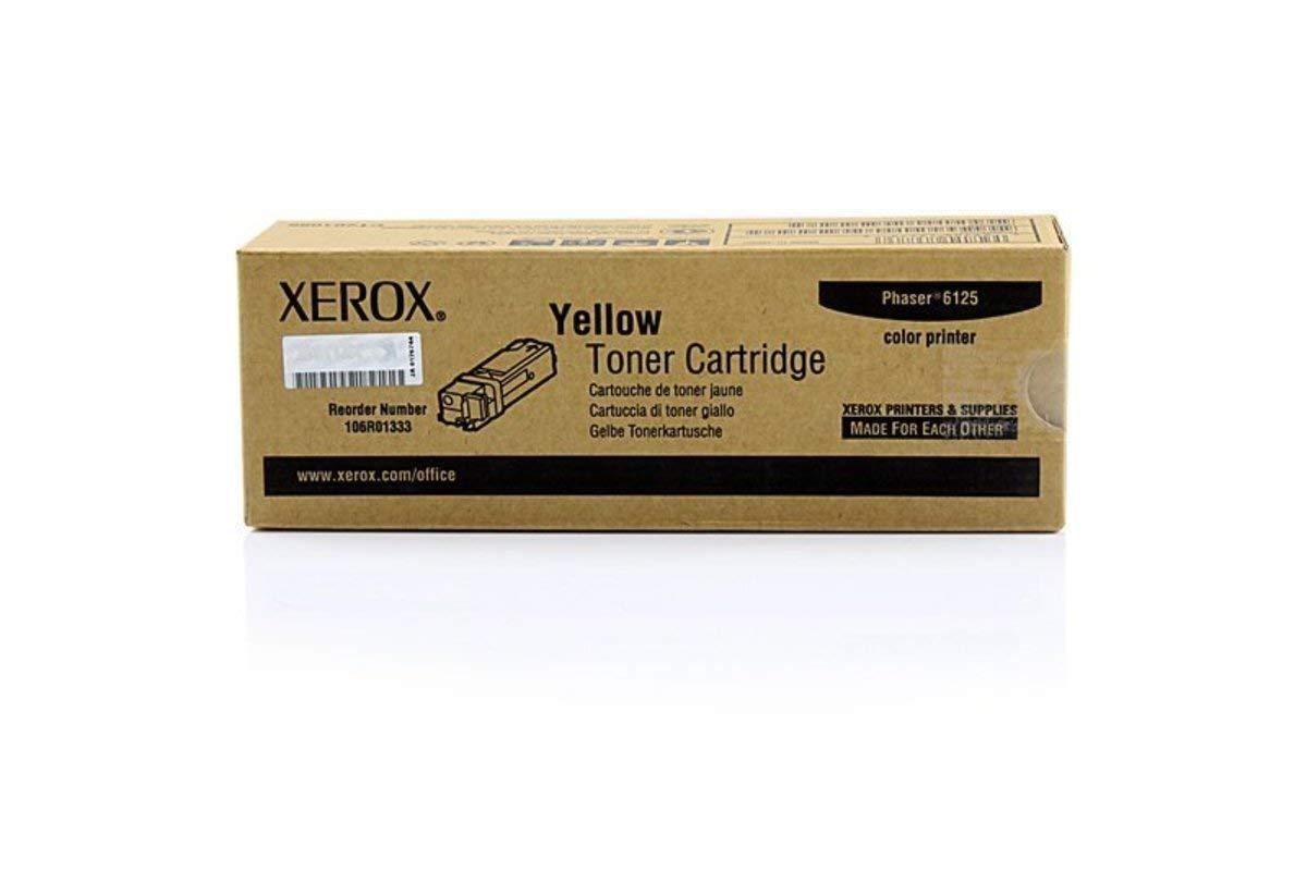 Xerox 6125 Original – XEROX PHASER 6125 Xerox Series (106 R 01333) – Toner Amarillo – 1000 páginas 82e803