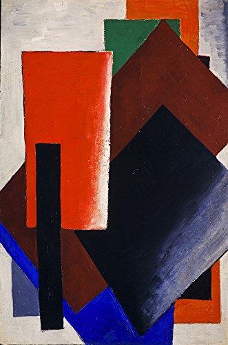 Kazimir Malevich Giclee Canvas Print Paintings Poster Reproduction (Lyubov popova painterly architectonic)