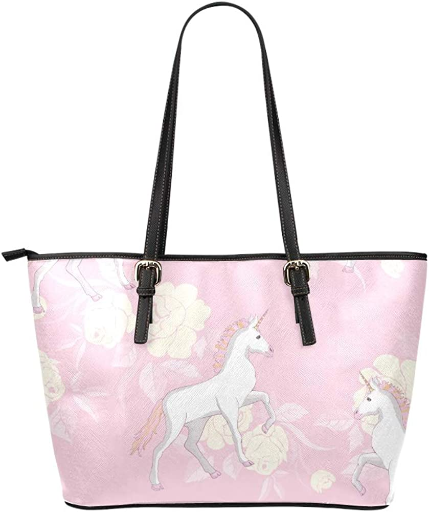 Books Bags For Women Cute Charm Idyllic Wild Animal Horse Leather Hand Totes Bag Causal Handbags Zipped Shoulder Organizer For Lady Girls Womens Small Handbags For Men