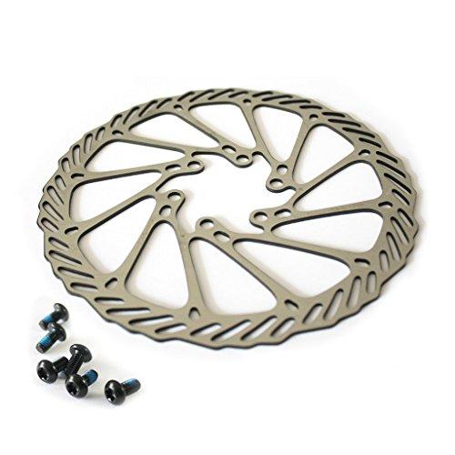 Lightweight Brake Rotors (SRAM 160mm Bike Disc Brake Rotor Front or Rear 1 Piece)