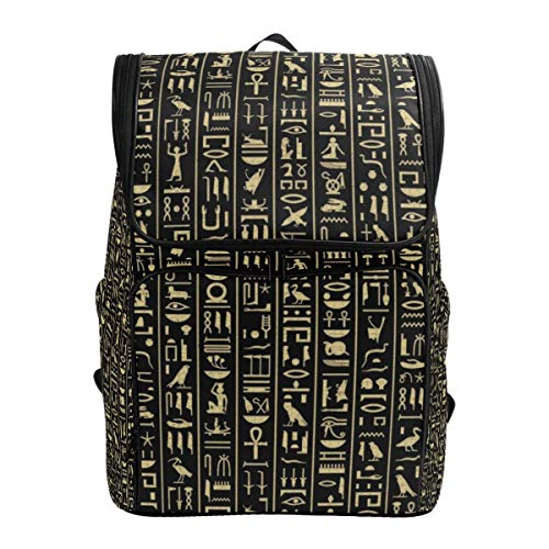 BaLin Hieroglyphics Laptop Backpack Travel Business Large Computer Backpack College School (Best Bali Travel Systems)