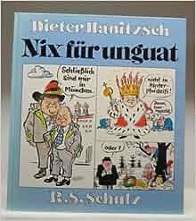 Nix fu r unguat german edition dieter hanitzsch for Dieter hanitzsch