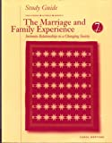 The Marriage and Family Experience, Strong, 0534537588