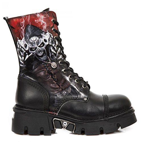 New Rock Støvler M.newmili10-s7 Gotisk Hardrock Punk Unisex Stiefel Sort jFrJMxDbqA