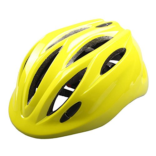 Price comparison product image Children Helmet Mini Ultralight Bicycle Secure & Safety Headguard Adjustable Baby Kids Bike Protective Harnesses Cap for Outdoor/Indoor with Light Yellow