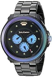 Juicy Couture Women's 1901336 Analog Display Quartz Black Watch