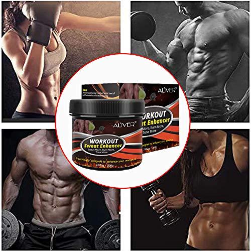 Sweat Cream Weight Loss Fat Burner for Women,Fitness Cream,Sweat Cream for Weight Loss, Fat Loss, Muscle Gain, Etc. 7