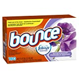 Bounce With Febreze Scent Spring & Renewal Fabric Softener Sheets 160 Count