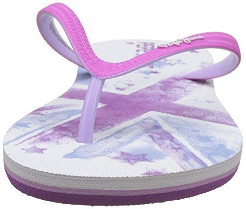Pepe Jeans London Mädchen Beach Stars Girl Zehentrenner Violett (Violet)