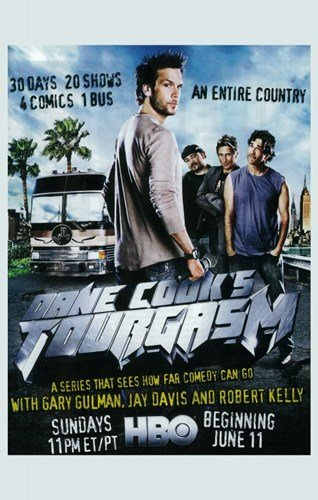 ArtFuzz Dane Cook's Tourgasm Movie Poster Print