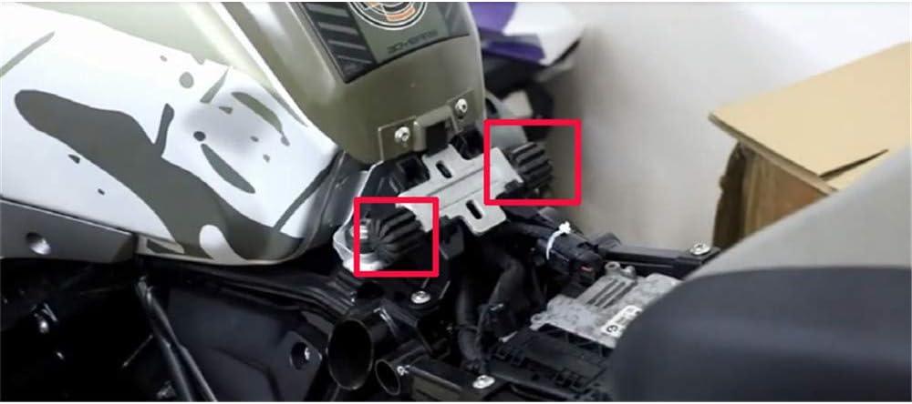 niedriges Tieferlegungs-Set f/ür BMW K1600 K1600 Grand America//K1600GT//R1250GS//R1250RT//S1000XR//R1200GS LC//R1200GS LC ADV//R1200RT LC YSMOTO Motorradfahrersitz
