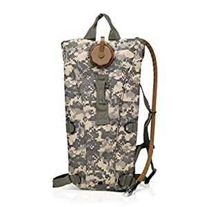 Water Backpack,GenLed Hydration Pack Backpacks with 3L Bladder for Hiking, Biking, Running, Walking and Climbing