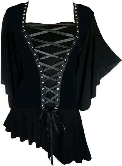 Dare To Wear Victorian Gothic Plus Size Alchemy Corset Top in Blue Jade