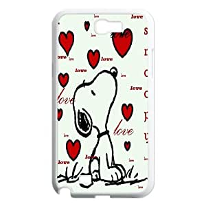 [H-DIY CASE] For Samsung Galaxy Note 2 -Love Snoopy-CASE-6