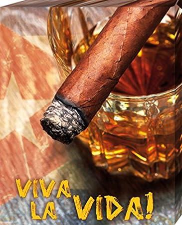 Amazon.de: 1art1 70753 Alkoholische Getränke - Kubanische Zigarre ...