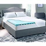 Serta Perfect Sleeper - Queen - 3 Inch Gel Memory Foam Mattress Topper - 60 x 80 x 3