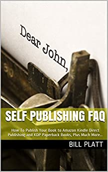 Self Publishing FAQ Publish Paperback ebook product image