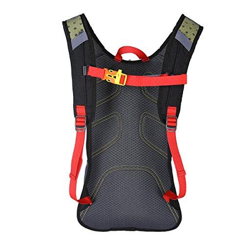 Reiten Outdoor-Sport-Liebhaber Rucksack Reisetasche Bergsteigen Regen Abdeckung Senden