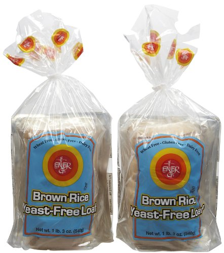 Ener-G Yeast, free Brown Rice Loaf, 19 oz, 2 pk