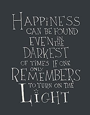 Amazon De Harry Potter Albus Dumbledore Zitat Glück