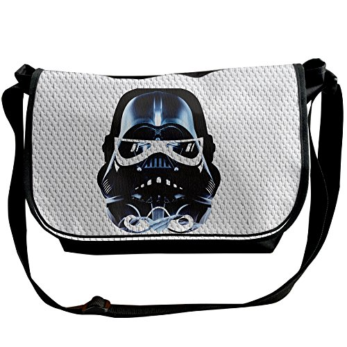Price comparison product image Amurder Personalized Cool Star Wars Mask Messenger Shoulder Bag Black