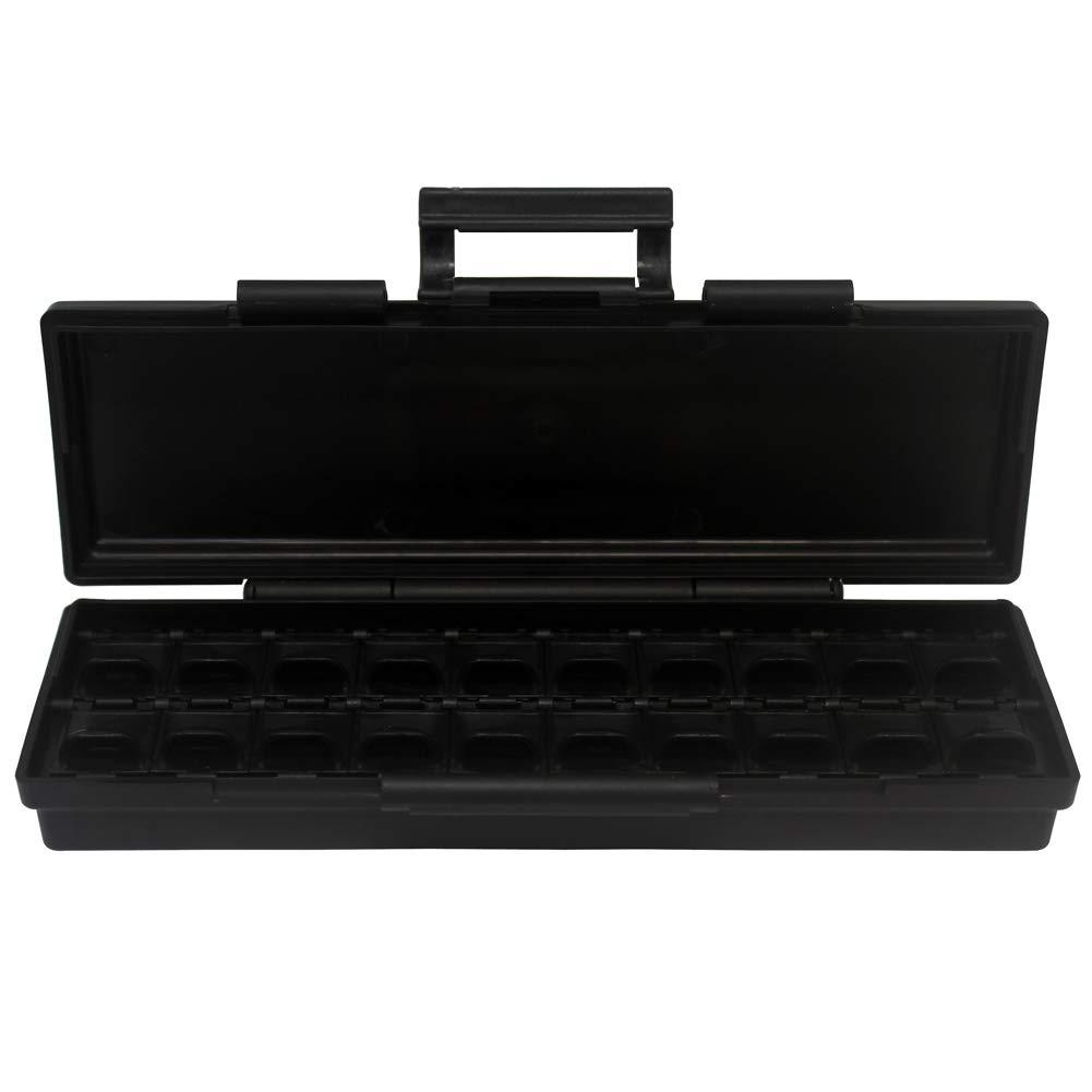 2pcs AideTek BOXALL48 lids empty enclosure SMD SMT organizer surface mount box labels /…