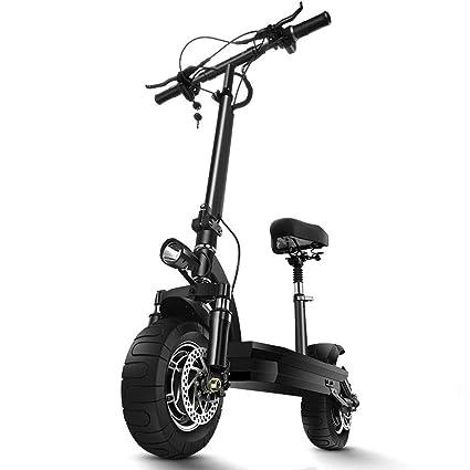 Patinete eléctrico Todoterreno, Scooter De Pedal Plegable ...