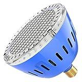LAMPAOUS LED Pool Lights Bulb, RGB Muliti Color LED Swimming Pool Lights, E26 Base Par56 Under Water Lights Replacement Bulb 120VAC 35 Watt ...