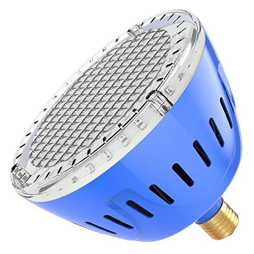 LAMPAOUS LED Pool Lights Bulb, RGB Muliti Color LED Swimming Pool Lights, E26 Base Par56 Under Water Lights Replacement Bulb 120VAC 35 Watt ... (Plus Lamps Dallas)