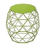 51Gc%2BsMtMGL. SL160  Joveco Triangle Pattern Metal Coffee Table