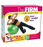 The Firm Slim and Sculpt Stability Ball with