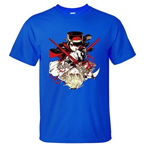 MVYE Men's Owari No Seraph T Shirt Organic Cotton blue XXL