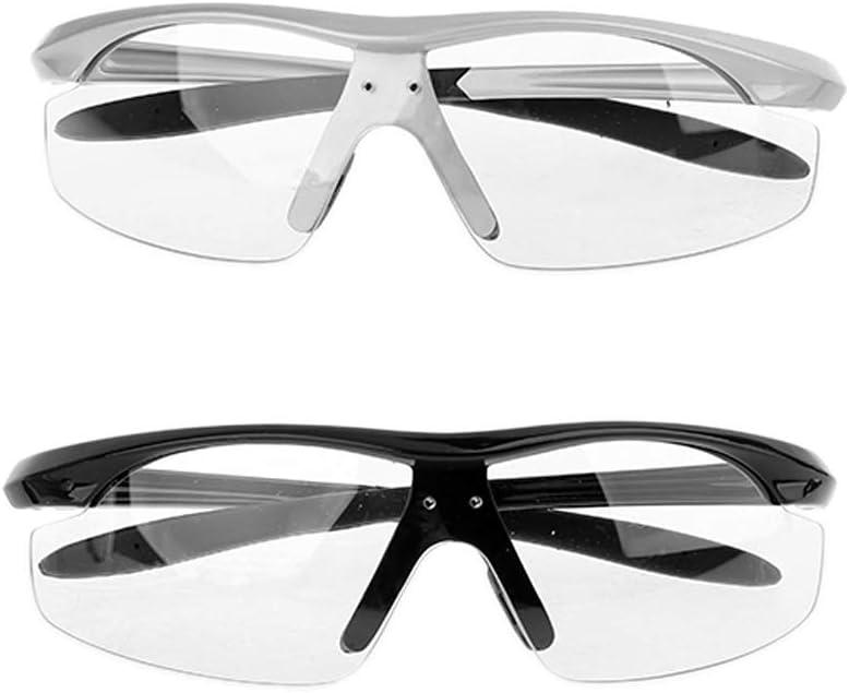 gafas de protecci/ón gafas de repuesto para Dental Loupe l/ámpara de luz con agujeros para tornillos Dedepeng Gafas de lupa con luz protectora color negro 140*170*40mm gafas protectoras de repuesto