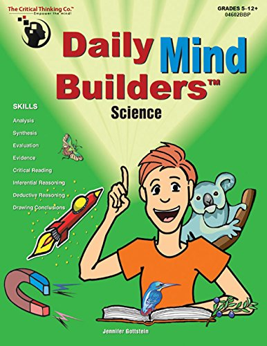 Mind Builders Math (The Critical Thinking Daily Mind Builders: Science Book School Workbook)